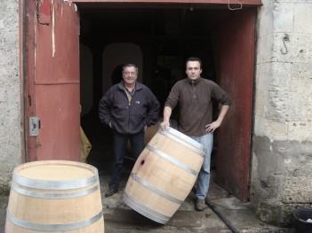 Jean Claude et Fédéric Richard - savoir-faire vigneron