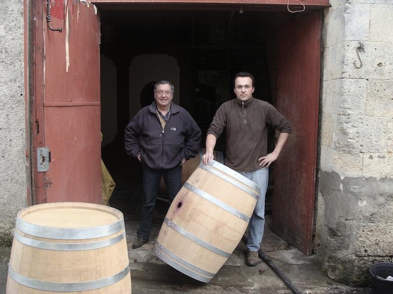 Jean-Claude et Frédéric Richard du Château Saint-Christophe, Saint-Emilion
