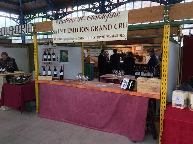 stand du Chateau Saint-Christophe à la foire aux vins de Sezanne