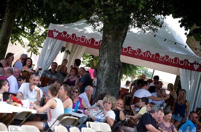 bar à vin éphémère Saint-Emilion Jazz Festival