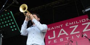 Bar des vignerons au Festival de Jazz de Saint-Emilion