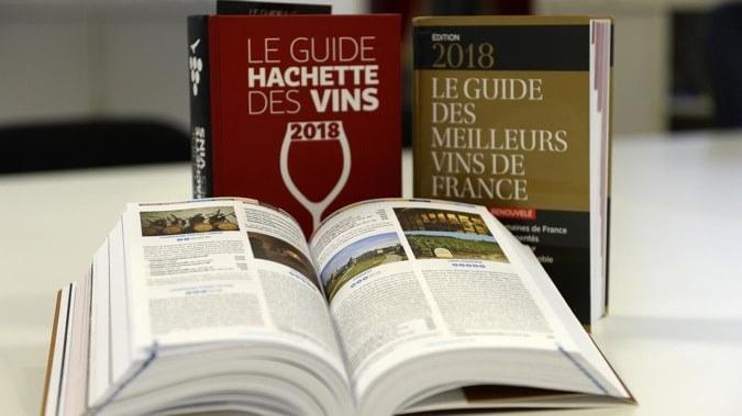 Guide Hachette des Vins ouvert