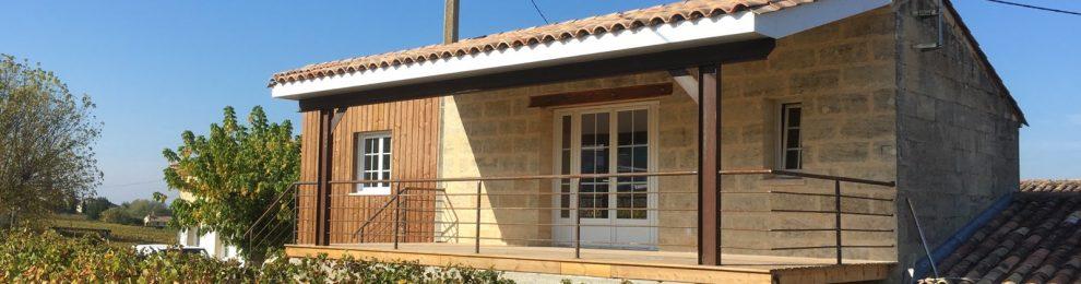Le Chalet Vigneron – 3mn de Saint Emilion – au milieu du vignoble